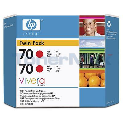 HP DESIGNJET Z3100 NO 70 INK RED